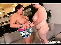 Erotic BBW Caressed And Penetrated