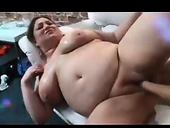 Amateur - BBW  Fucked & Fisted with Audience